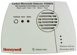Szén-monoxid érzékelők